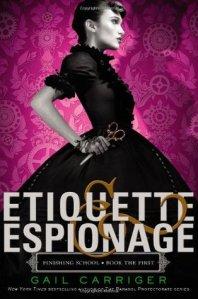 Etiquette and Espionage Cover Art