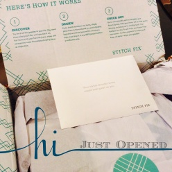Stitch Fix Opened