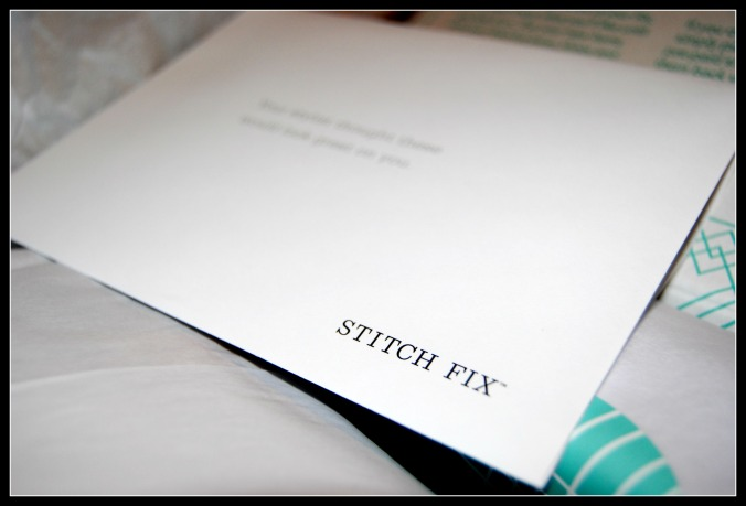 Stitch Fix Envelope