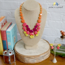 c+i fresco isle necklace with books