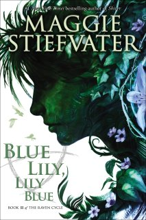 Blue Lily, Lily Blue Cover Art