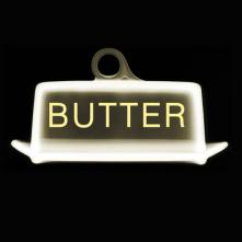 Butter cover design by Regina Flath